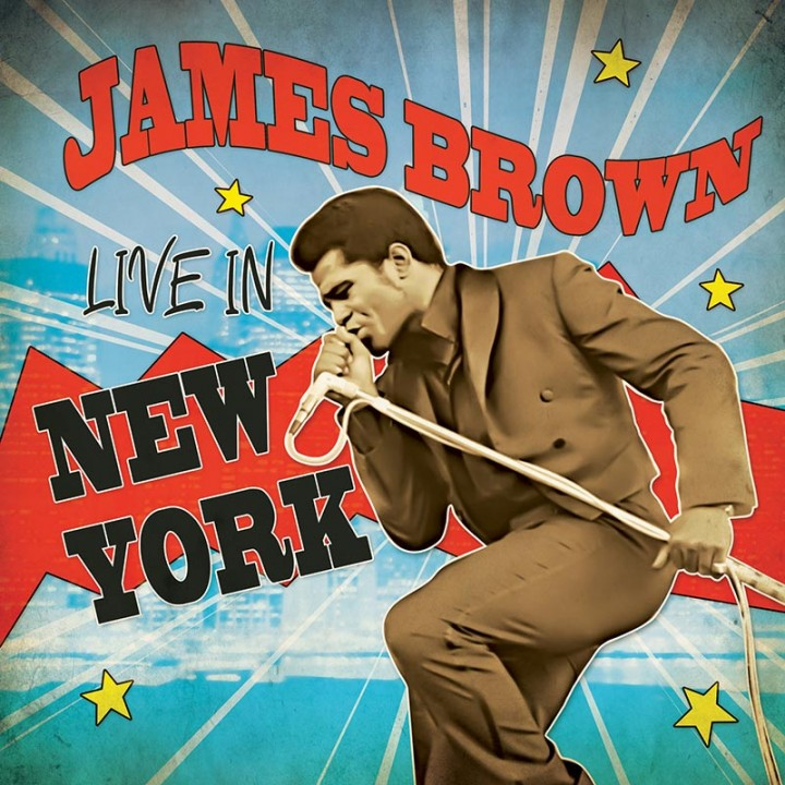 James Brown - Live In New York (Limited Edition Red LP)