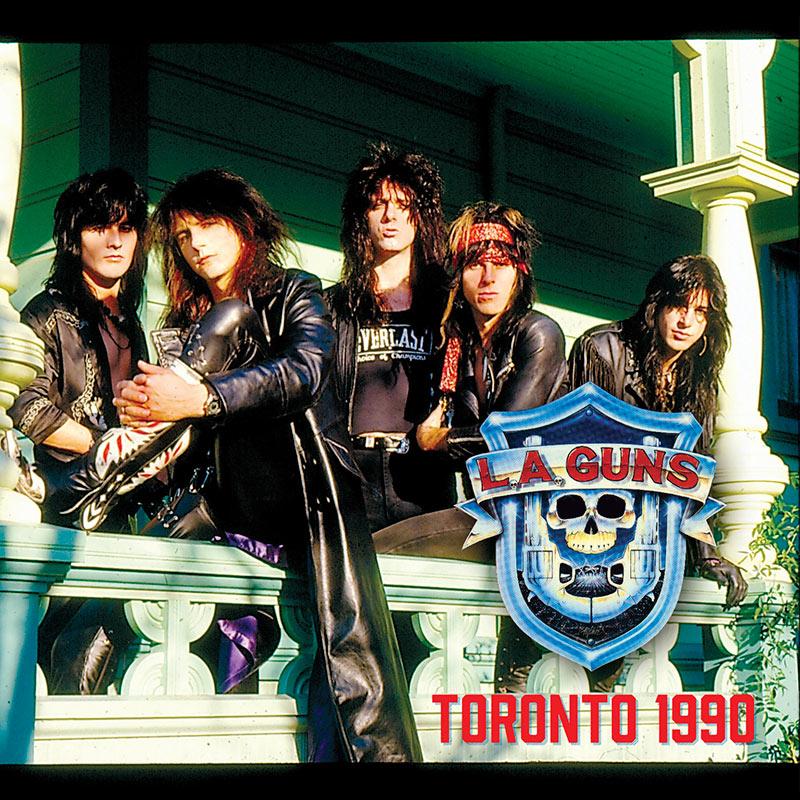 L.A. Guns - Toronto 1990 (CD)