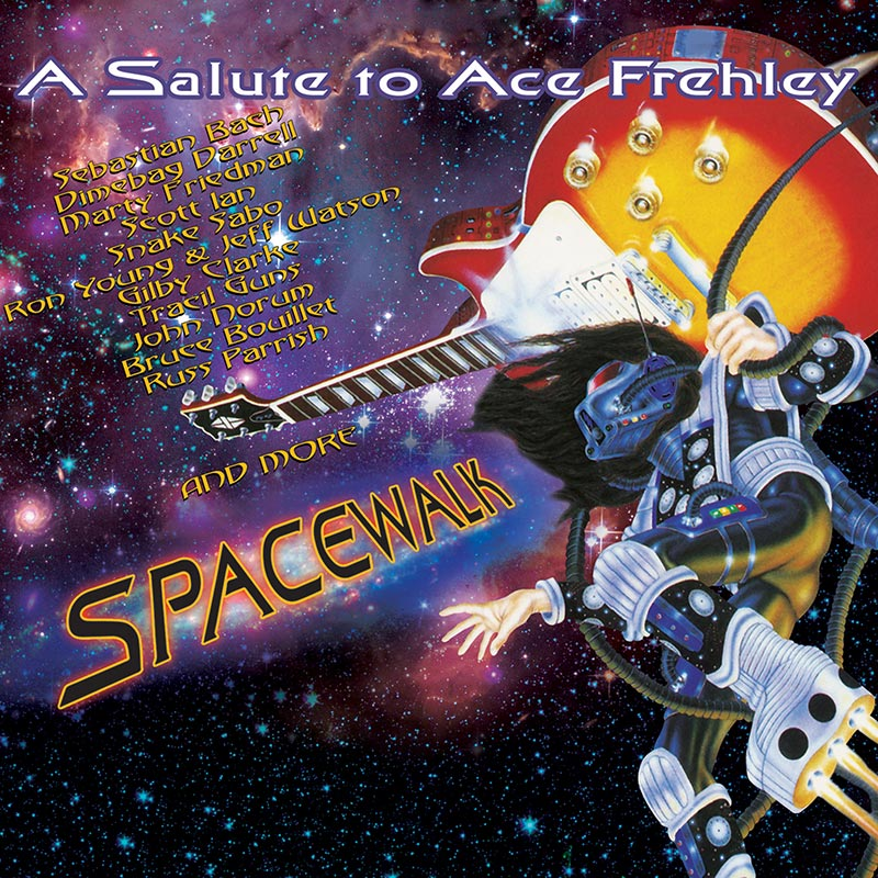 spacewalk a salute to ace frehley cd cleopatra records store. Black Bedroom Furniture Sets. Home Design Ideas