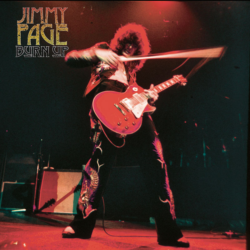 Jimmy Page - Burn Up (Limited Edition Red LP)