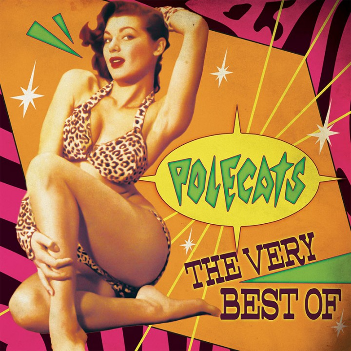 Polecats - The Very Best Of (Limited Edition Pink LP)