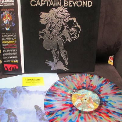Captain Beyond – Captain Beyond Limited Edition Velvet Cover Cleopatra Records
