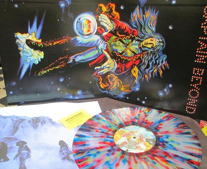 Captain Beyond – Captain Beyond Limited Edition Velvet Cover Cleopatra Records
