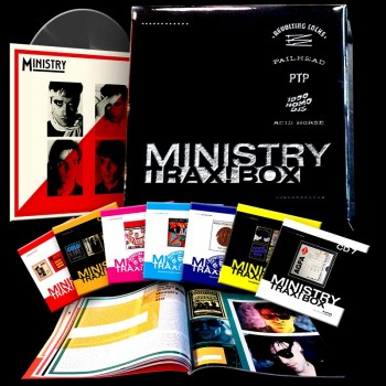 Ministry - Trax! Box (7 CDs + LP & Booklet)