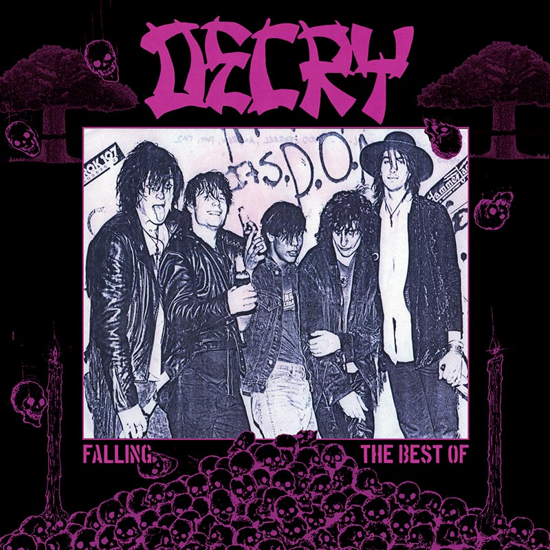 Decry - Falling - The Best Of (Limited Edition Purple LP)