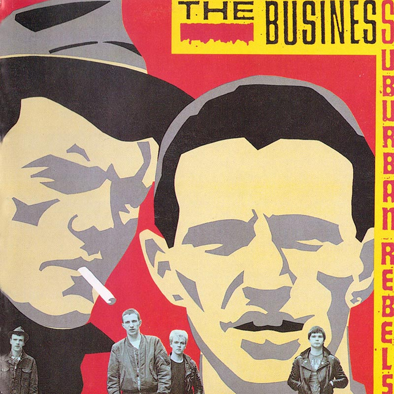 The Business - Suburban Rebels (LP)