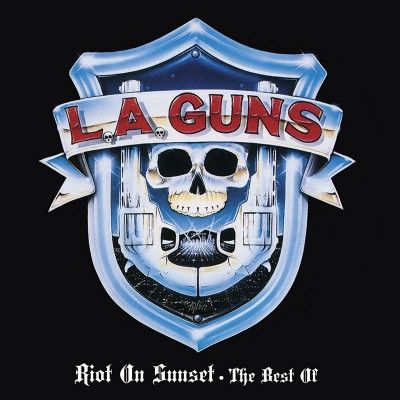 L.A. Guns - Riot On Sunset - The Best Of (Limited Edition Blue LP)