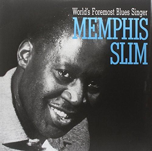 Memphis Slim Worlds Foremost Blues Singer LP