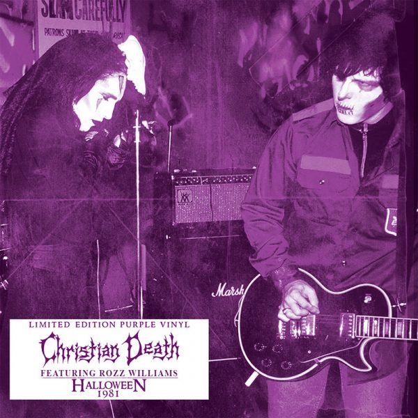 Christian Death - Halloween 1981 (Limited Edition Purple LP)