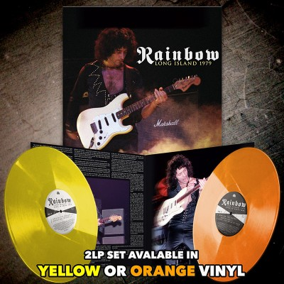 Rainbow - Long Island 1979 (Limited Edition Black LP)
