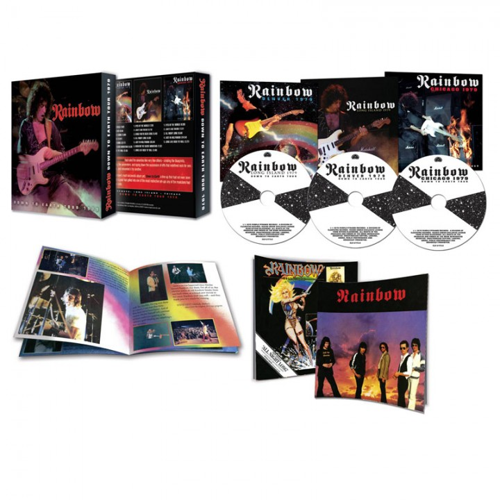 Rainbow - Down To Earth Tour 1979 (3 CD Box + Booklet & More!)