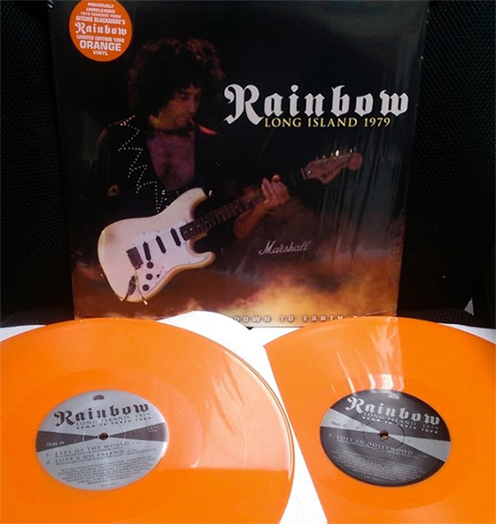 Rainbow - Long Island 1979 (Limited Edition Orange LP)