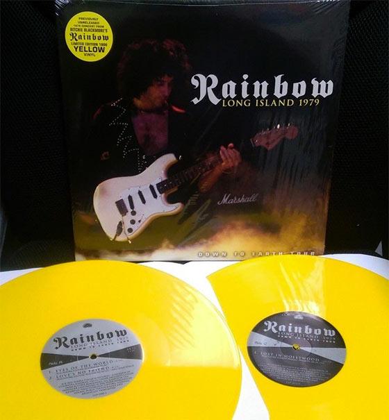 Rainbow - Long Island 1979 (Limited Edition Yellow LP)