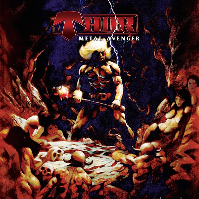 Thor Metal Avenger Cd Cleopatra Records Store