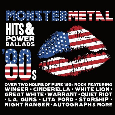 Monster Metal Hits & Power Ballads (2 CD)