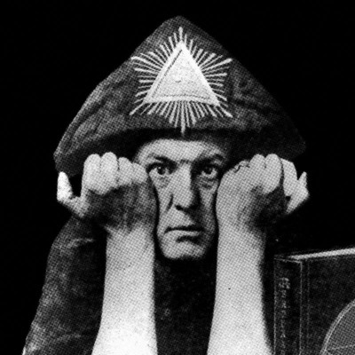Aleister Crowley - The Evil Beast (Limited Edition Silk Screened Cover & Red LP)