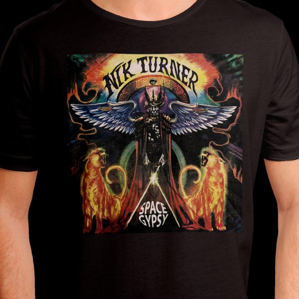 Nik Turner - Space Gypsy - (T-Shirt)