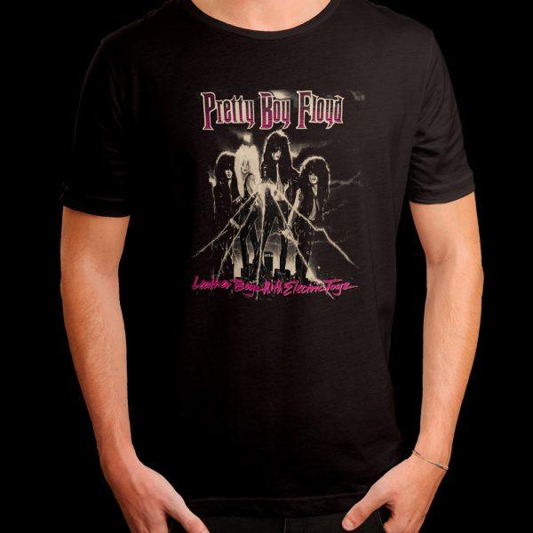 Pretty Boy Floyd - Leather Boys With Electric Toys (Shirt)