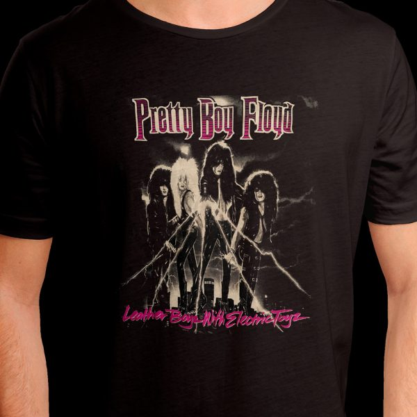 Pretty Boy Floyd - Leather Boys With Electric Toys (Shirt)