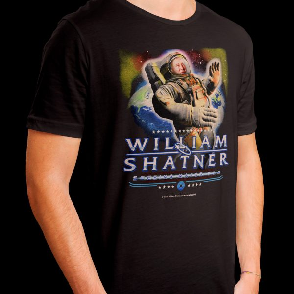 William Shatner - Seeking Major Tom (Shirt)