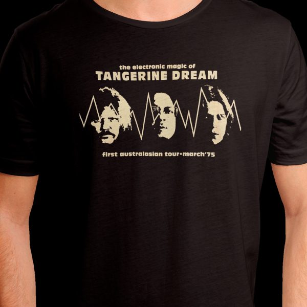 Tangerine Dream Australian Tour '75 (Shirt)