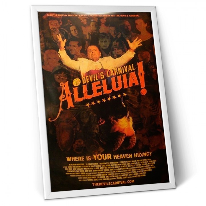 Alleluia! The Devil's Carnival (Limited Edition 27x39 Poster)