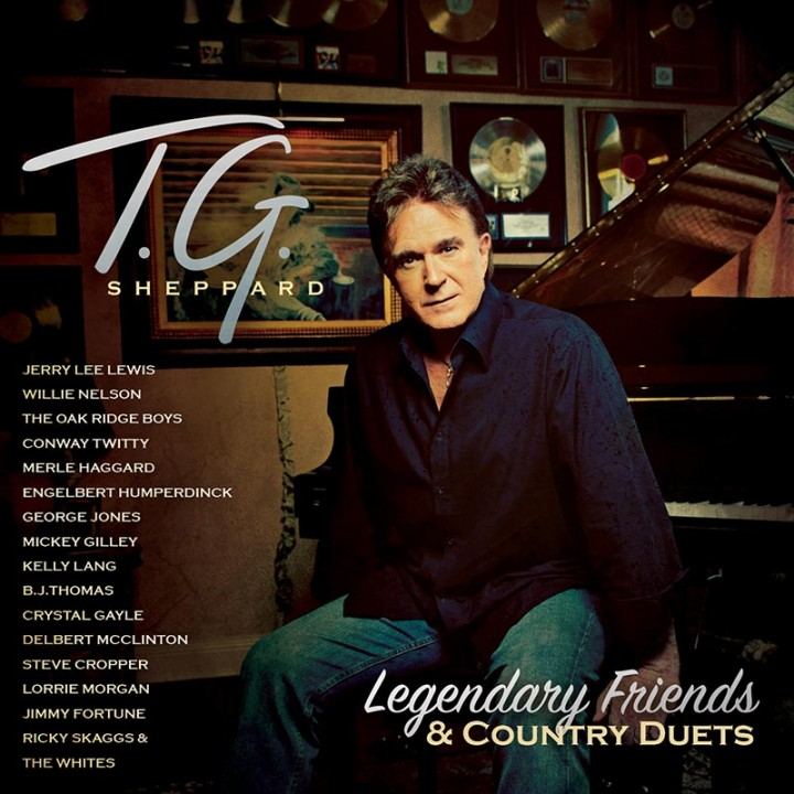T.G. Sheppard - Legendary Friends (CD)