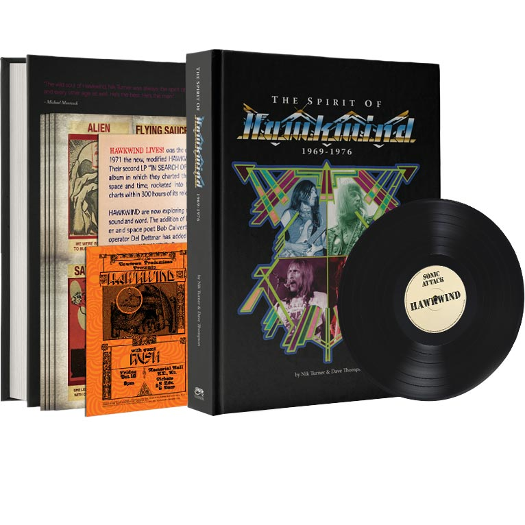 The Definitive Account Of The Life Of Legendary Space Rock Band Hawkwind (Book - Pre-Order)
