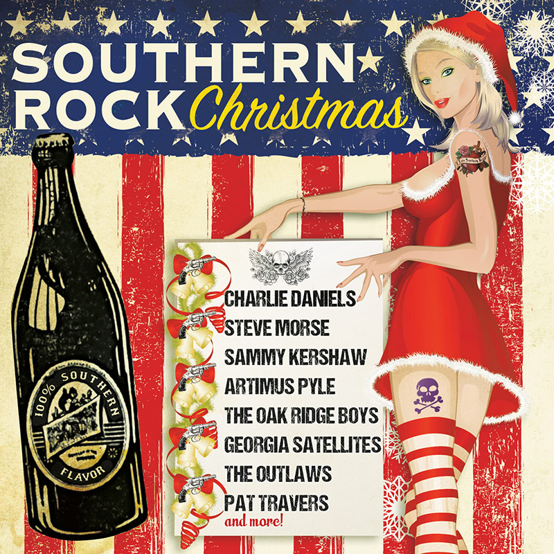 southern rock christmas cd cleopatra records store - Christmas Cd