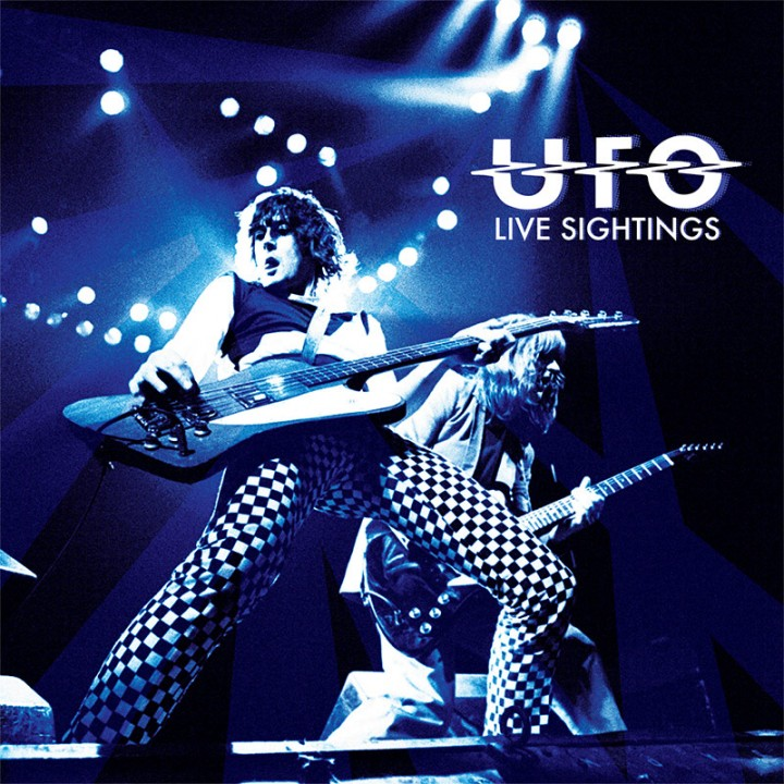 UFO - Live Sightings (Limited Edition Box w/ 4 CDs, Booklet, Tour Programs & Color LP)