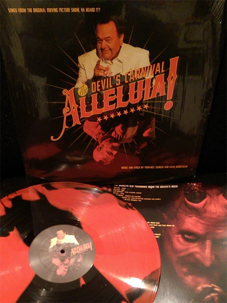 Alleluia! The Devil's Carnival (Original Motion Picture 2015 Soundtrack) (Limited Edition Red & Black Marble LP)
