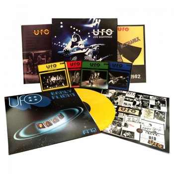 UFO - Live Sightings (Limited Edition Box Set w/ 4 CDs, Booklet, Tour Programs & Color LP)