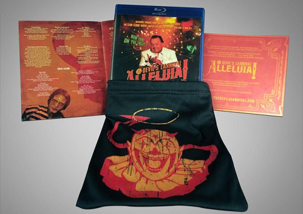 Alleluia! The Devil's Carnival - Collector's Edition (DVD+Blu-Ray - Pre-Order)