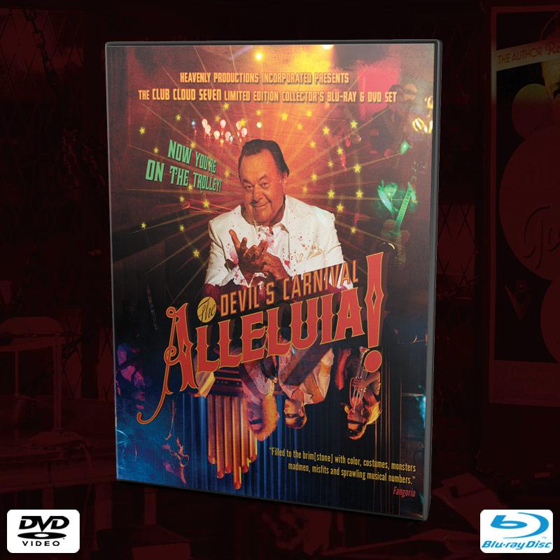 Alleluia! The Devil's Carnival - Collector's Edition (DVD+Blu-Ray)