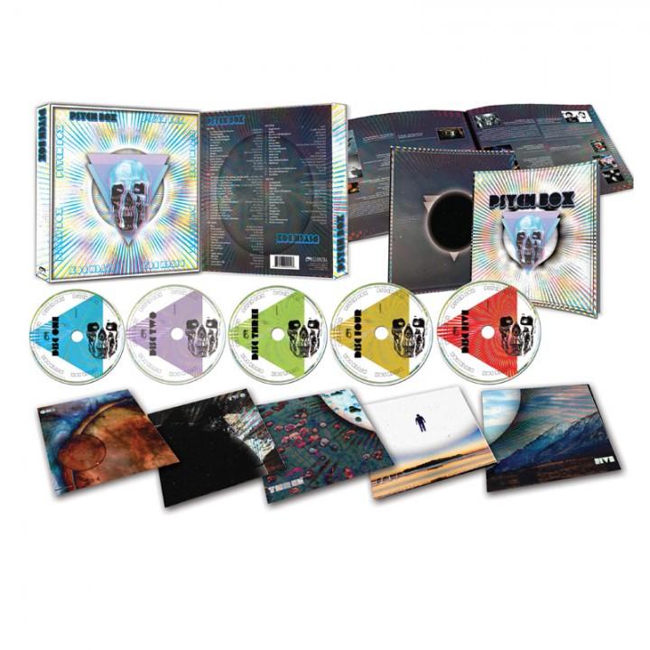 "Psych Box (5 CD, Booklet + Bonus 7"" EP)"