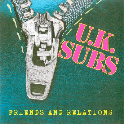 UK Subs - Friends & Relations (Limited Edition Clear LP)