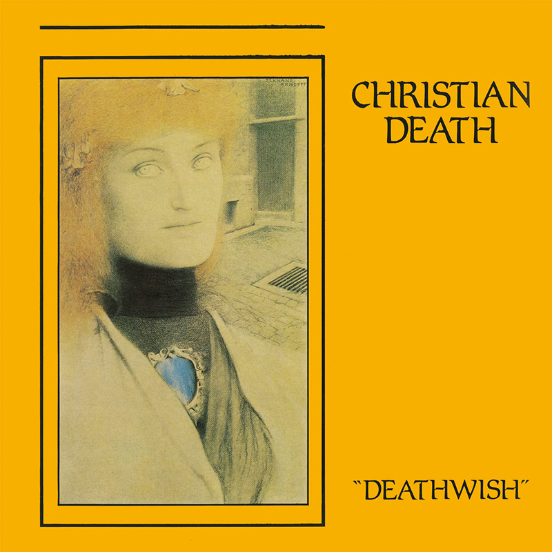 Christian Death - Deathwish (Limited Edition Clear LP + Booklet)
