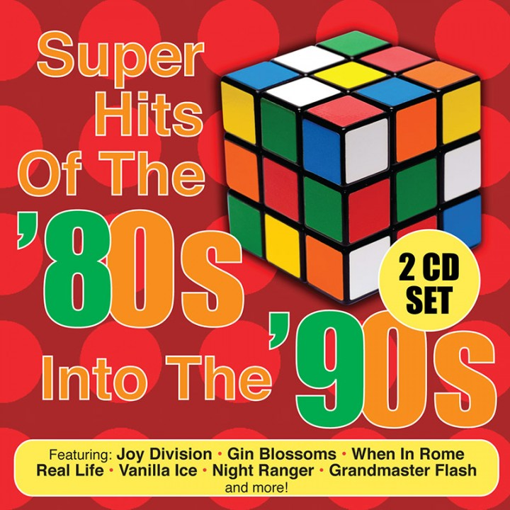 Super Hits Of The '80s Into The '90s (CD)