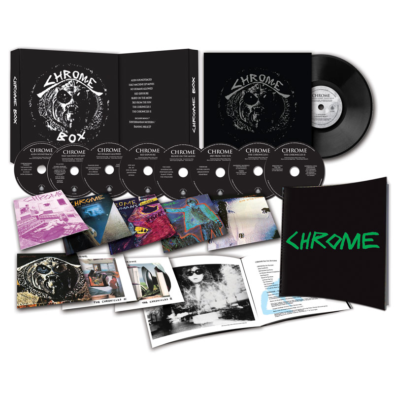 "Chrome - Chrome Box Revisited (8 CDs, Booklet + Bonus 7"")"