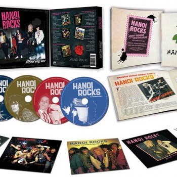 Hanoi Rocks -Strange Boys Box (Limited Edition 5 CD Box Set)