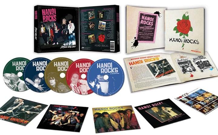 Hanoi Rocks Strange Boys Box Limited Edition 5 Cd Box