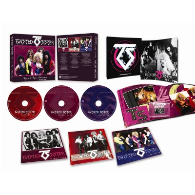 Twisted Sister - Rock 'N' Roll Saviors - The Early Years (3CD Box Set)