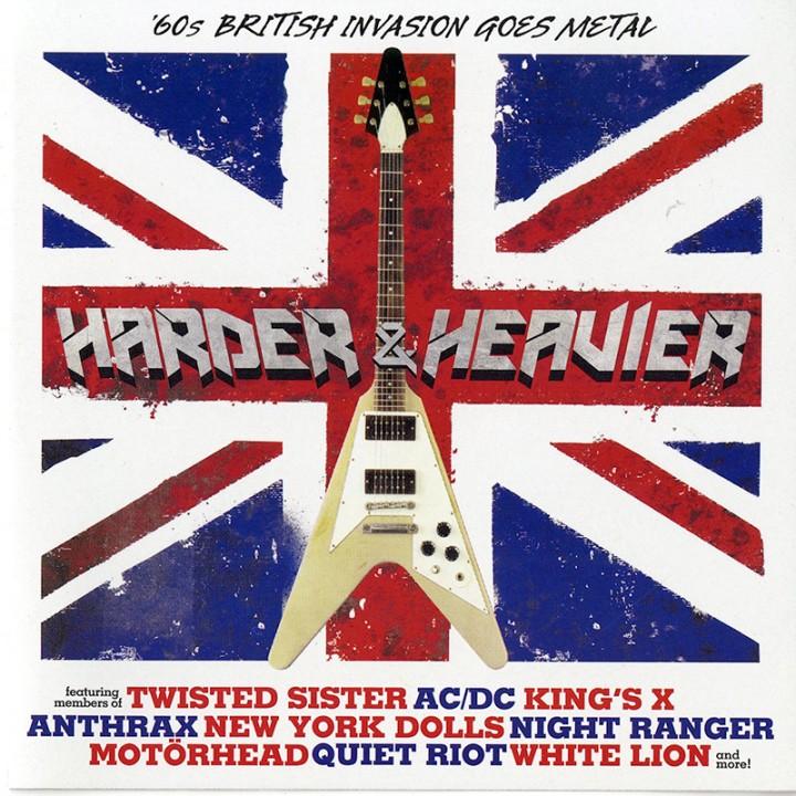 Harder & Heavier - '60s British Invasion Goes Metal (CD)