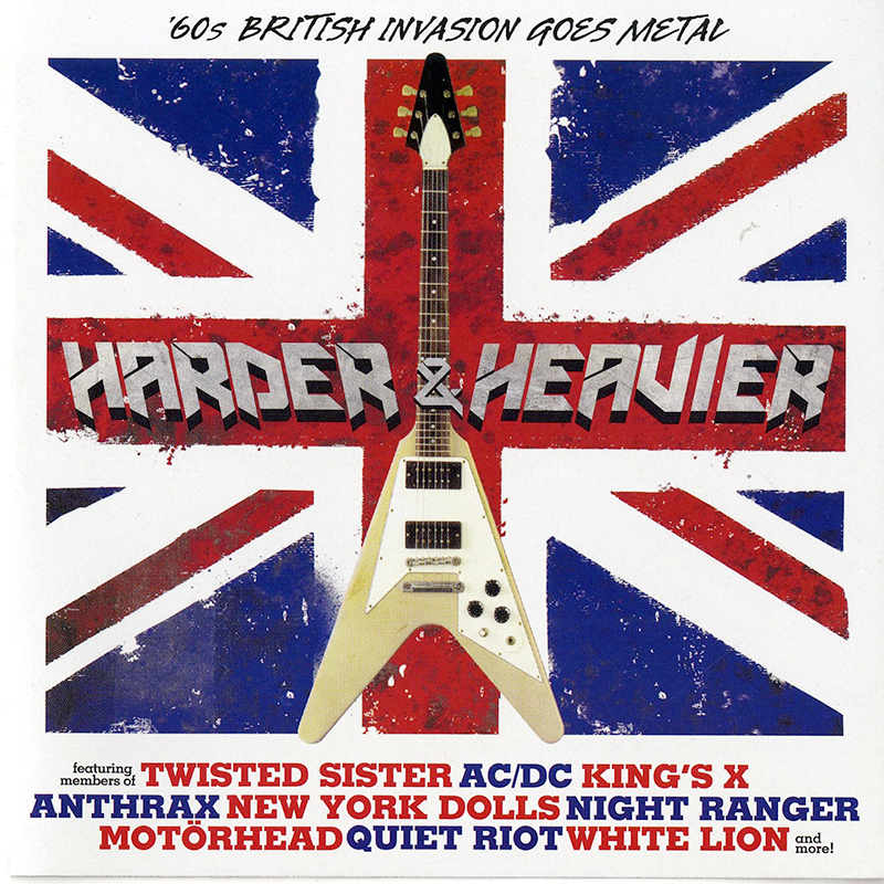 Harder & Heavier - '60s British Invasion Goes Metal (CD)