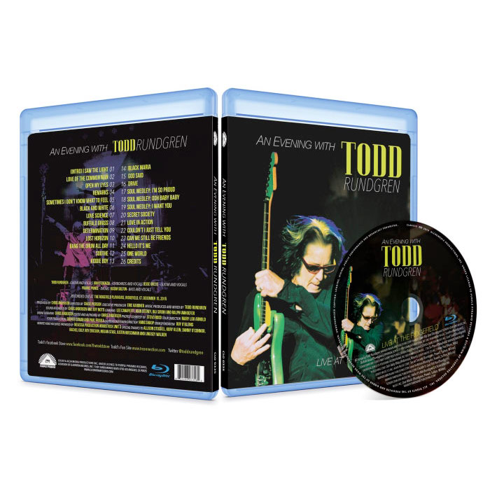 An Evening With Todd Rundgren - Live At Ridgefield (Blu-Ray)