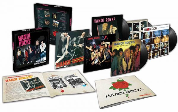 Hanoi Rocks - Strange Boys Box (6 LP Box)