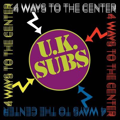 UK Subs - 4 Ways To Center (4 CD)