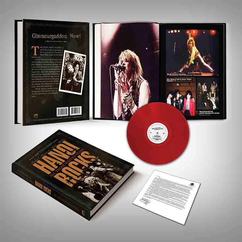 Hanoi Rocks - All Those Wasted Years (Hardcover Book)