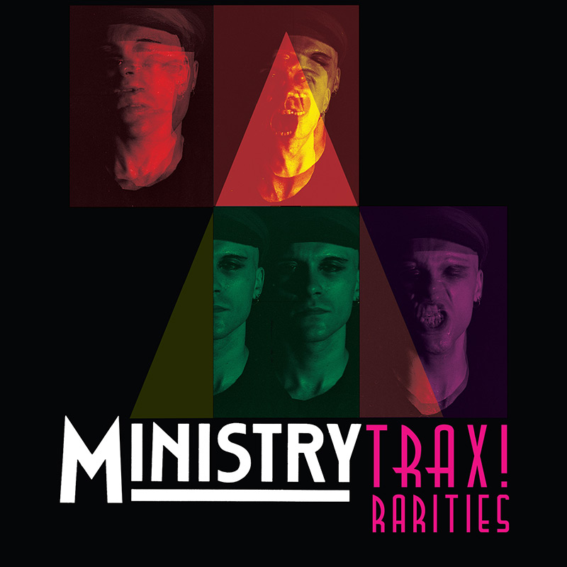 Ministry - Trax! Rarities (Limited Edition Clear 2 LP)