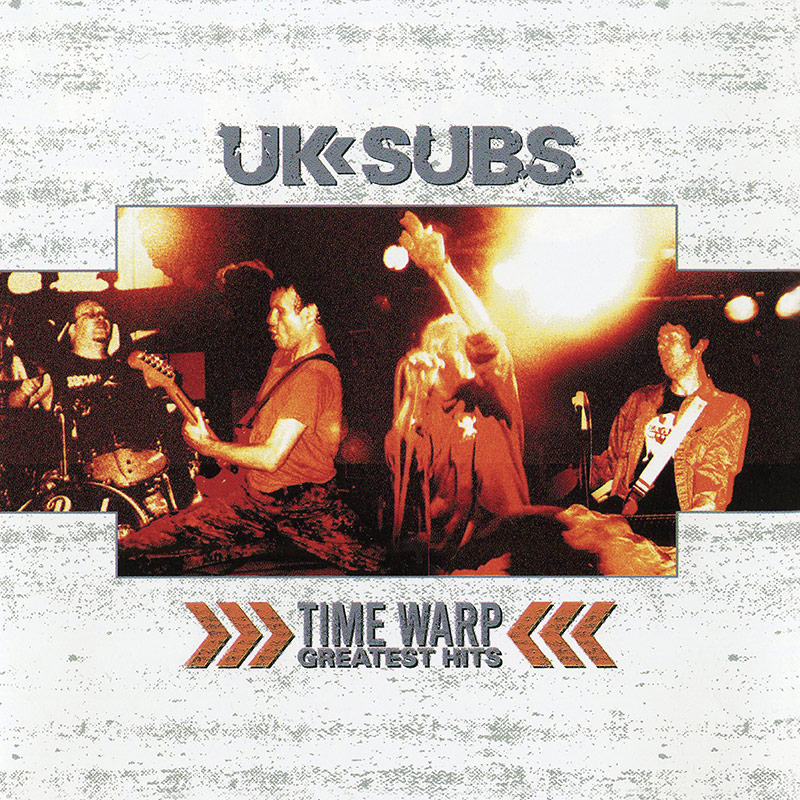 Uk Subs Time Warp Greatest Hits Lp Cleopatra